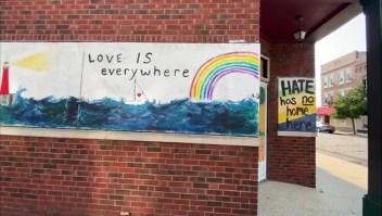 """""""No hay lugar para el odio"""", el mensaje latino para Kenosha"""