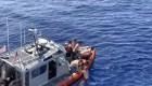 Mira el encuentro cercano de un tiburón con una tripulación
