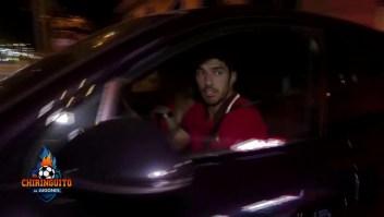 Lionel Messi es visto en la vía pública con Luis Suárez