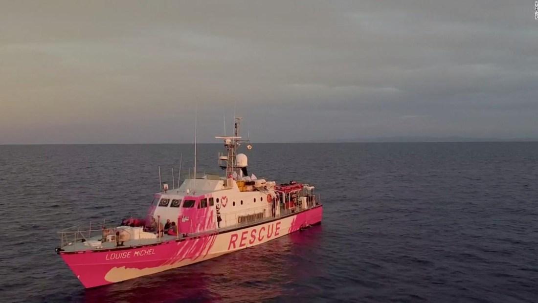 Barco de Banksy rescata a 89 personas