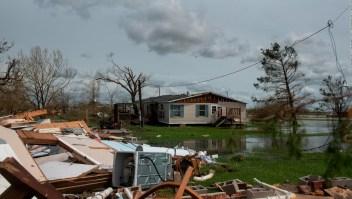 Las consecuencias del paso Laura por Louisiana