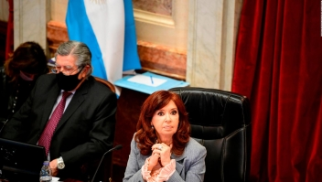 La broma de Cristina F. de Kirchner a senador opositor