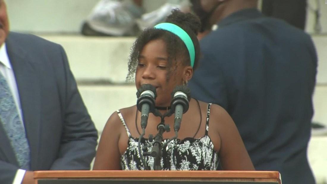 Miles exigen justicia en memoria de Martin Luther King