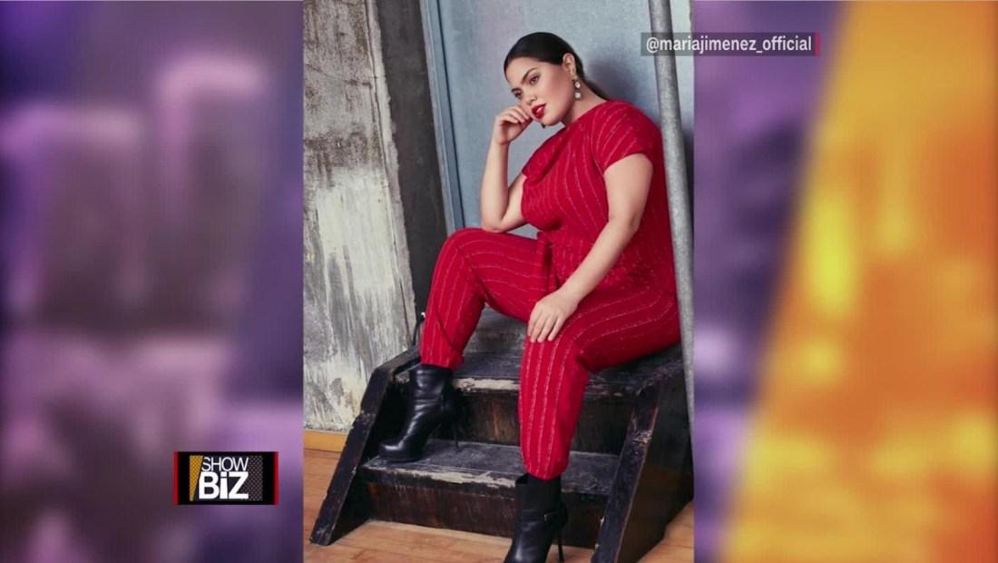María Jiménez Pacífico, modelo de talla grande que lucha contra el bullying