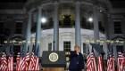 Trump usó la Casa Blanca como escenario político electoral