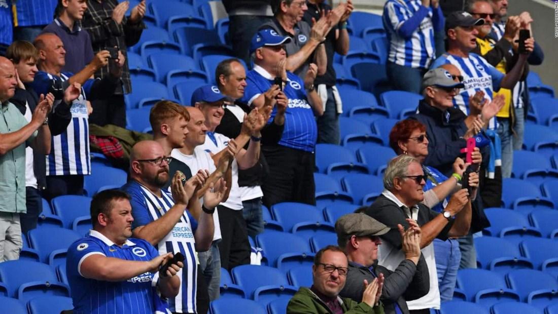 Regresó el público en el fútbol inglés