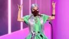 Lady Gaga, precavida y a la moda en los premios MTV