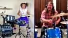 Mira la batalla entre Dave Grohl y una niña de 10 años