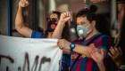 La situación de Messi desata el enojo de los hinchas