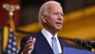 """Biden critica a Trump por """"incitar"""" a la violencia en el país"""