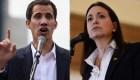 María Corina Machado rechaza planteamiento de Juan Guaidó