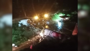 Accidente avión India