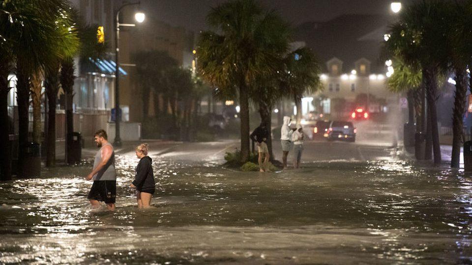 Huracán Isaías Carolina del Norte