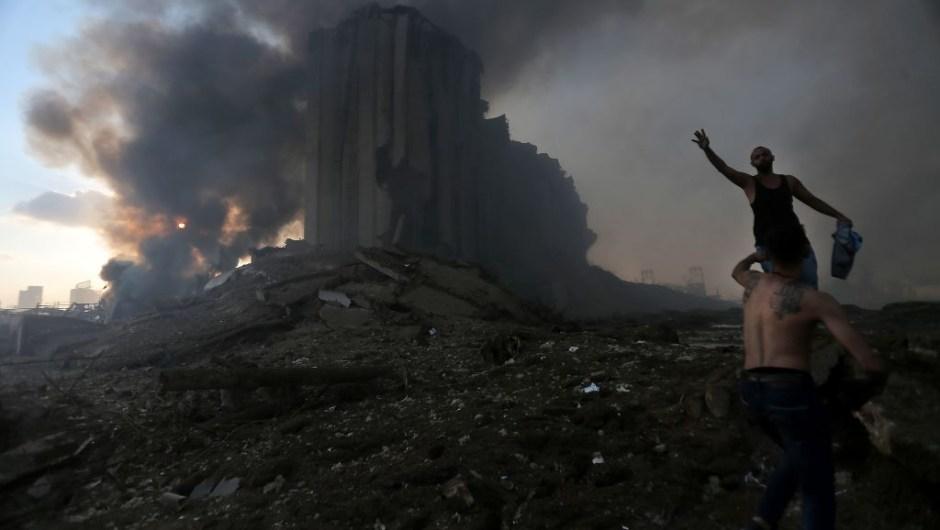 explosión beirut fotos video heridos muertos líbano noticias CNN