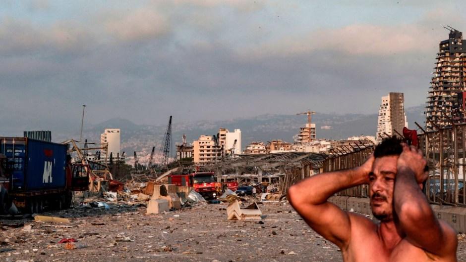 Explosión beirut Líbano heridos muertos incendio