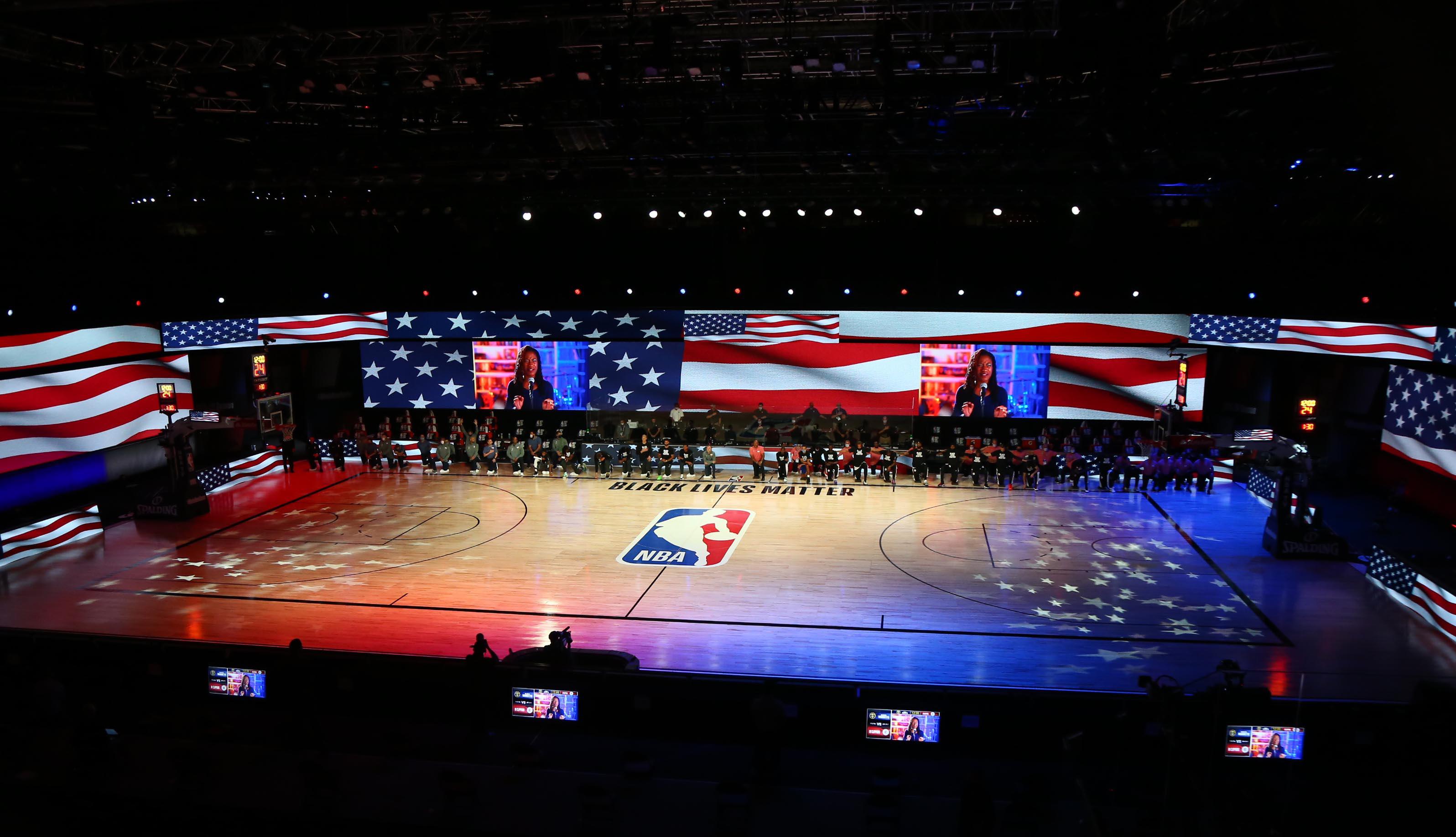 La NBA romperá su burbuja en Orlando