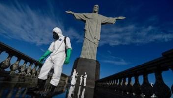 Así comienza la semana en los países más afectados por covid-19 en Latinoamérica