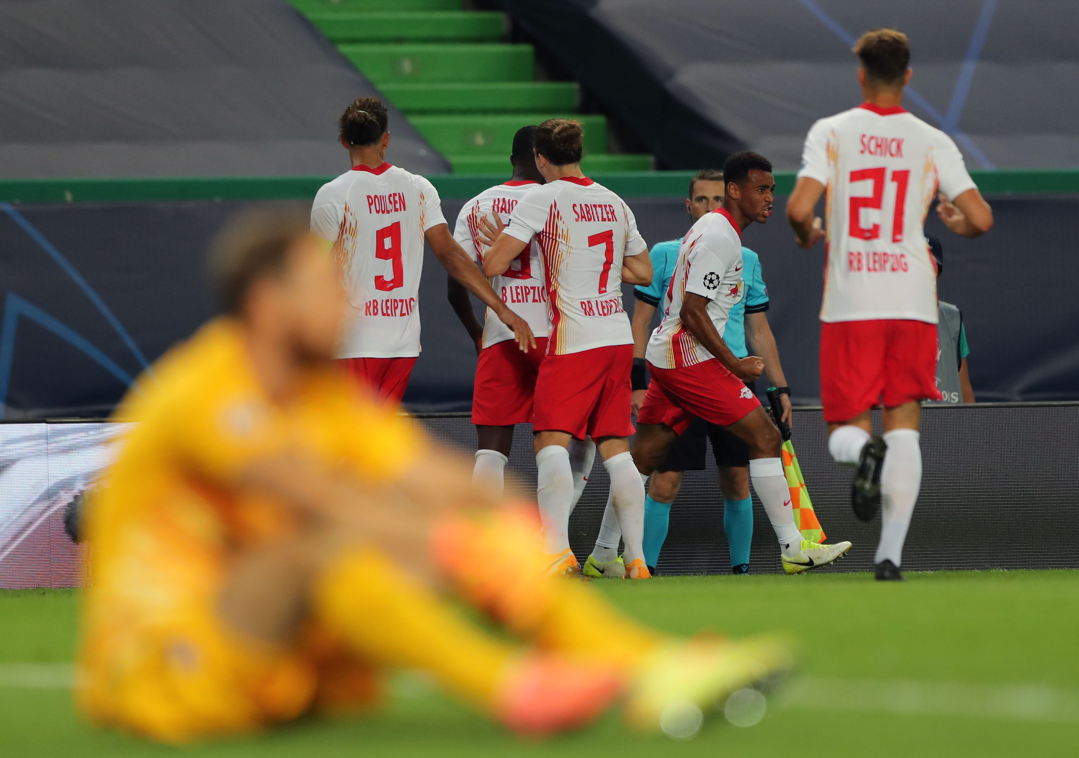 El Atlético de Madrid, eliminado de la Liga de Campeones por el Leipzig