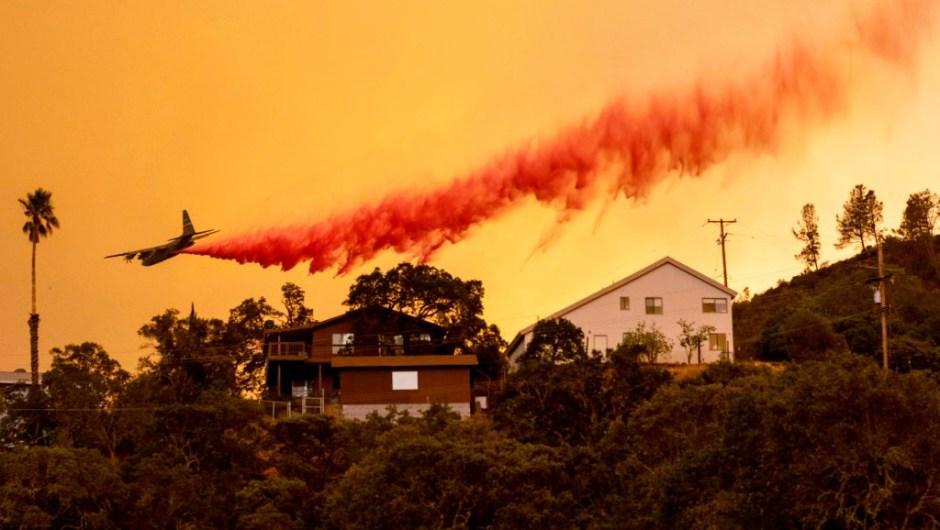 Incendios forestales California imágenes llamas afectada