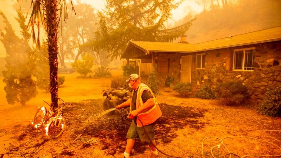 Incendios forestales california afectados hectáreas kilómetros cuadrados fotos videos
