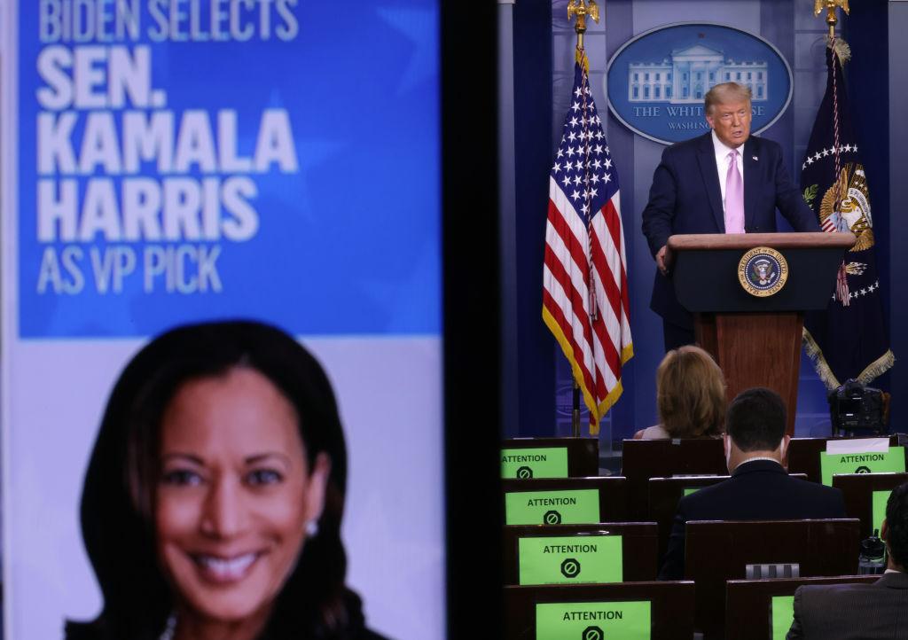 """Mercedes Schlapp: """"Kamala Harris es más liberal que Bernie Sanders"""""""