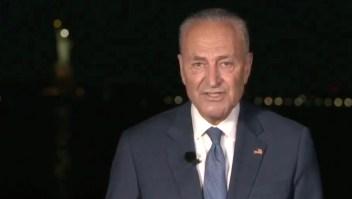 Chuck Schumer lider minoria democrata congreso estados unidos convencion democrata joe biden nominacion
