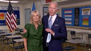 Jill Biden en la convención demócrata