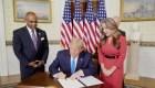 Jon Ponder recibe perdón presidencial en la Convención Republicana