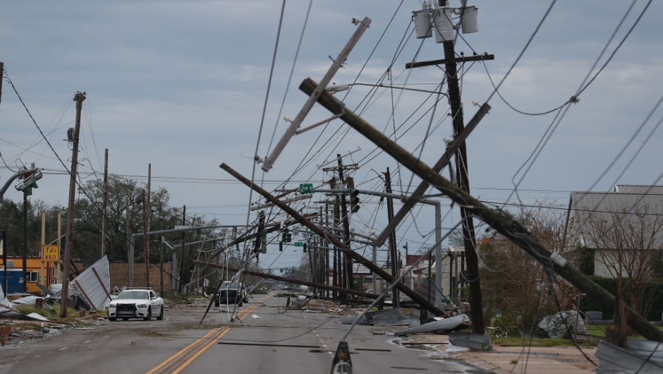 Huracán Laura daños víctimas Louisiana Texas Huracán Laura - daños, víctimas