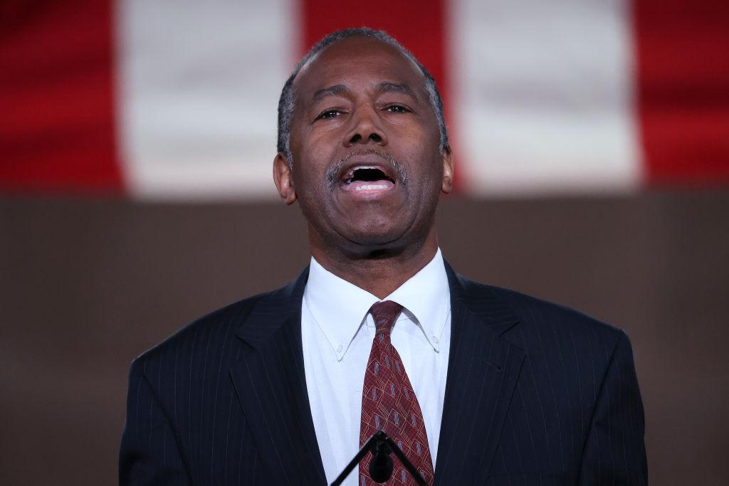Ben Carson en la Convención Republicana