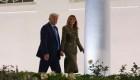 Melania y Donald Trump en la Convención Republicana