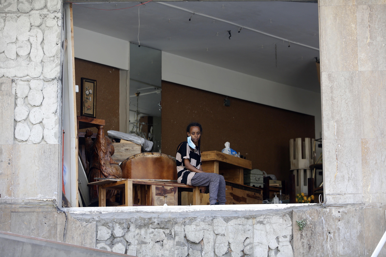 Explosión Beirut víctimas fotos imágenes video desplazados