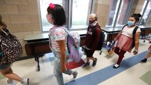 Ha habido un aumento del 90% en los casos de covid-19 en niños estadounidenses en las últimas cuatro semanas, según un informe