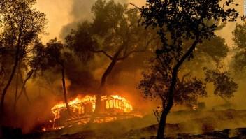 En este momento, hay docenas de grandes incendios forestales en EE. UU. Aquí es donde están