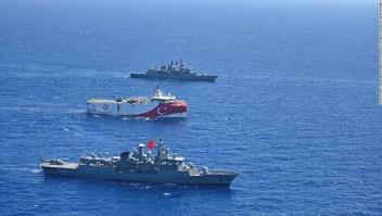 Los aliados de la OTAN se enfrentan en el Mediterráneo oriental. El conflicto podría enredar a toda la región