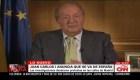 Juan Carlos I deja España