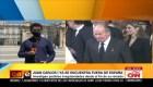 Juan Carlos I ya se encuentra fuera de España