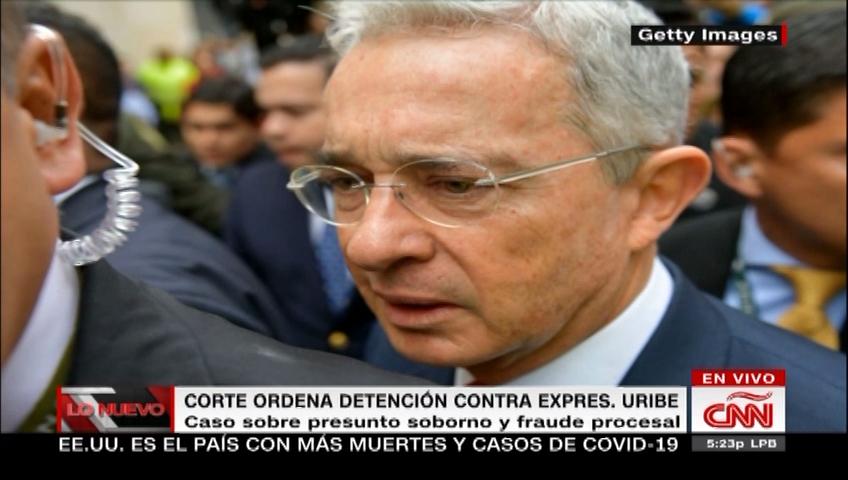 Álvaro Uribe, en detención domiciliaria por decisión unánime