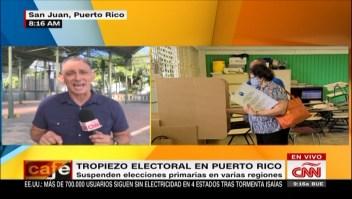 Puerto Rico suspende elecciones primarias