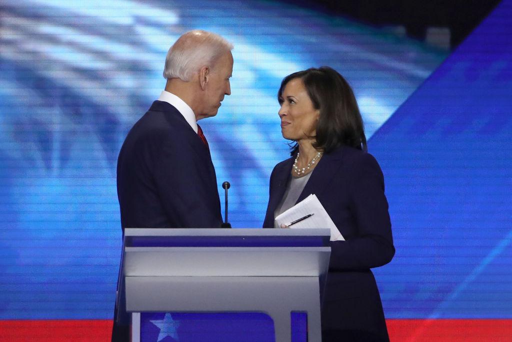 Kamala Harris, aspirante a vicepresidente en fórmula con Joe Biden