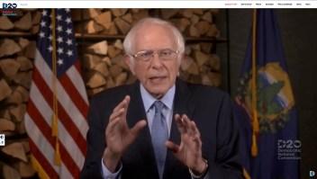 Sanders: Biden acabará con odio y división que Trump creó