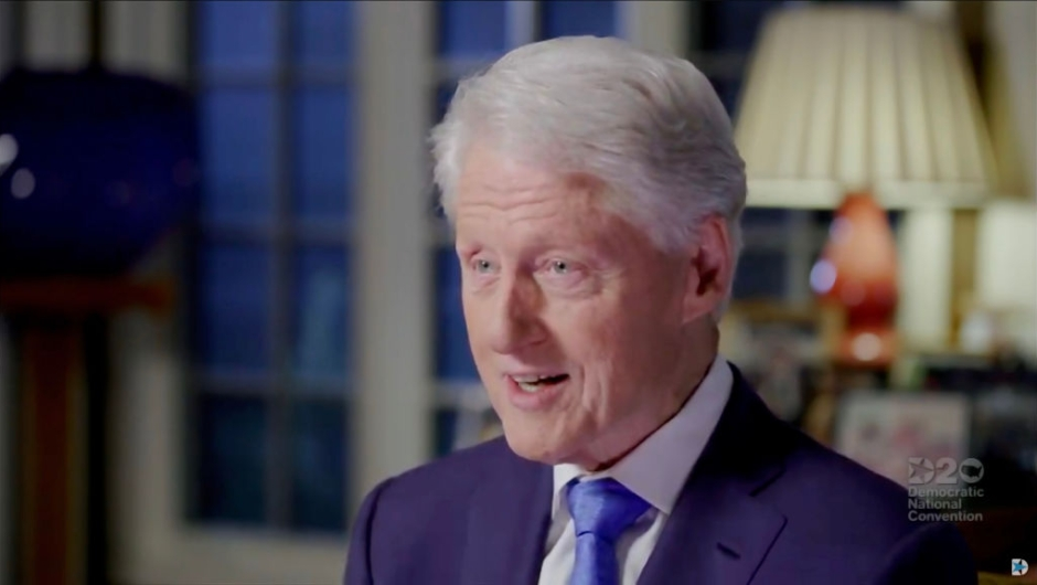 Bill Clinton criticizes Trump for his handling of the pandemic