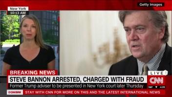 Steve Bannon es arrestado