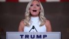 Kayleigh McEnany narra cómo Trump la ha apoyado