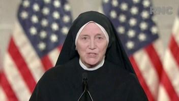 Monja habla contra el aborto en la Convención Republicana