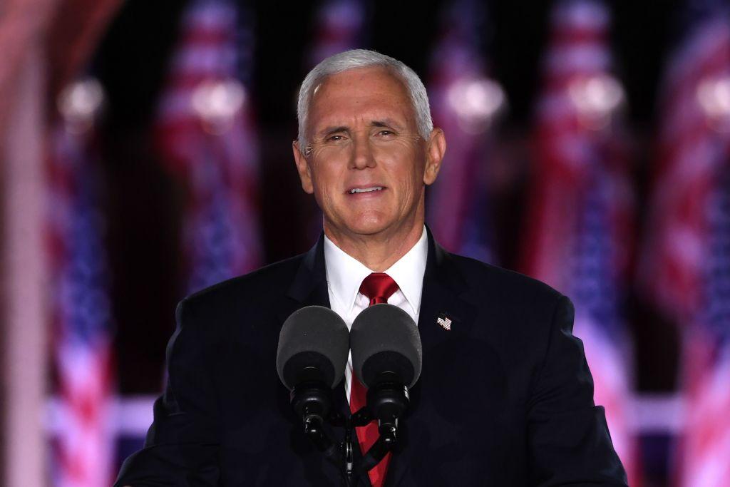 Mike Pence acepta candidatura a vicepresidente en la Convención Republicana