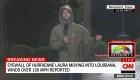 """""""Laura es algo que nunca he experimentado antes en mi carrera"""", dice meteorólogo de CNN desde el centro del huracán"""