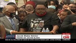 """""""No hay justicia, no hay paz"""", reclama el padre de Jacob Blake"""