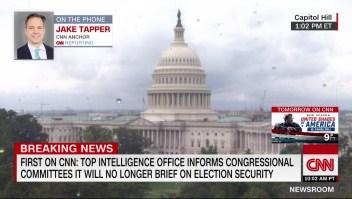 Alto funcionario de inteligencia comunica al Congreso que no informará en persona sobre seguridad electoral