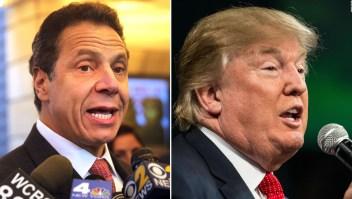 Gobernador Cuomo: Trump causó brote de covid-19 en Nueva York